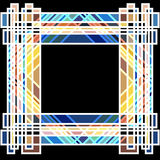 Art Deco Frame 2 Stock Photography