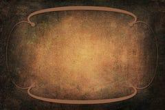 Art Deco Frame sur le fond avec la texture Photos stock