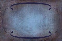 Art Deco Frame sur le fond avec la texture Images libres de droits