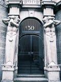 Art deco gates Royalty Free Stock Images