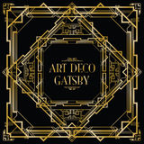 Art deco gatsby Fotos de Stock