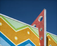 Art Deco-Gebäude Stockbild