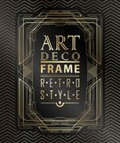 Art deco geométrico Fotos de Stock Royalty Free