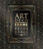 Art deco geométrico Foto de Stock