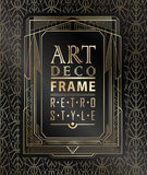 Art deco geométrico Imagens de Stock Royalty Free