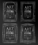 Art deco geométrico Imagens de Stock