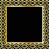 Art deco geometric frame (1920's style), vector illustration Stock Photo