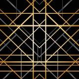 Art Deco Geometric Pattern Stock Photo