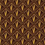 Art deco geometric pattern Stock Photography