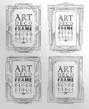Art deco geometric Royalty Free Stock Image