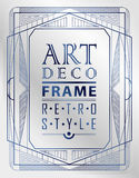 Art deco geometric Royalty Free Stock Images