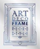 Art Deco geometryczny Fotografia Stock