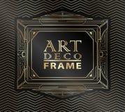Art Deco geometryczny Fotografia Royalty Free