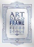 Art Deco geometryczny Zdjęcie Royalty Free