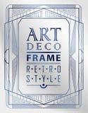 Art Deco geometryczny Obrazy Royalty Free