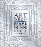 Art Deco geometryczny Obraz Royalty Free