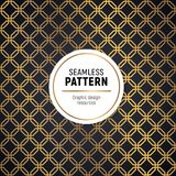 Art deco golden seamless pattern. Perfect for your project Royalty Free Stock Photo