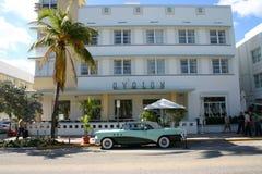 Art Deco Hotel Royalty-vrije Stock Afbeeldingen