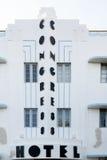Art deco hotel Congress in Miami Beach, Florida Stock Photos