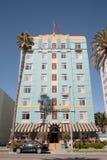 Art Deco-hotel in La Royalty-vrije Stock Afbeelding