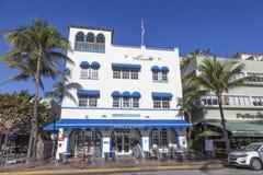 Art Deco hotel w Miami Fotografia Stock