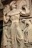 Art Deco Industry carving, Mumbai Stock Photography