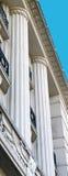 Art deco Doric columns Royalty Free Stock Image