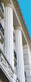 Art Deco ionian kolumny Obraz Royalty Free