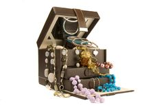 Art Deco Jewellery box Royalty Free Stock Images