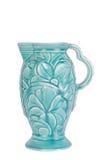 Art Deco Jug. Art Deco period stylised pottery jug with bold design stock photos