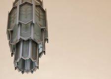 Art Deco lampa - odsadzka zdjęcia stock