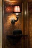 Art Deco lampion i dęciaka kapelusz Obraz Royalty Free
