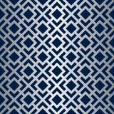 Art Deco Lattice Vector Pattern sans couture Photo libre de droits