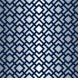 Art Deco Lattice Vector Pattern sans couture Images stock