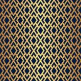 Art Deco Lattice Vector Pattern sans couture Images libres de droits
