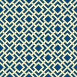 Art Deco Lattice Vetora Pattern sem emenda Foto de Stock Royalty Free