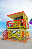 Art deco lifeguard tower Royalty Free Stock Images
