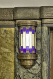 Art deco light royalty free stock images