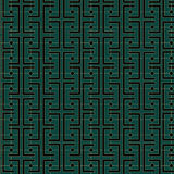 Art Deco Links Pattern Stock Images