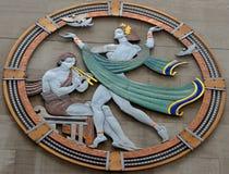 Art deco medallion Royalty Free Stock Photo