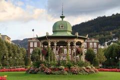 Art Deco Music Pavilion, Bergen Fotografia Stock