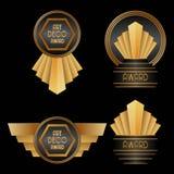 Art Deco nagrody Zdjęcia Royalty Free