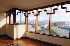 art deco okno zdjęcia royalty free