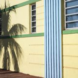 art deco okręgu Miami. Obrazy Stock