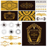ART DECO OR GATSBY Party Set Stock Photography