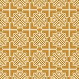 Art Deco Pattern. Seamless background. Geometric design. 1920-30s motifs. Luxury vintage illustration Royalty Free Stock Image