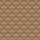 Art Deco Pattern. Seamless golden background. Minimalistic geometric design. Vector line design. 1920-30s motifs. Luxury vintage illustration Royalty Free Stock Images