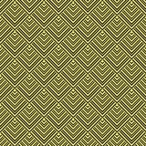 Art Deco Pattern. Seamless golden background. Minimalistic geometric design. Vector line design. 1920-30s motifs. Luxury vintage illustration Royalty Free Stock Image