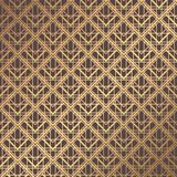 Art Deco Pattern. Seamless golden background. Minimalistic geometric design. Vector line design. 1920-30s motifs. Luxury vintage illustration Stock Image