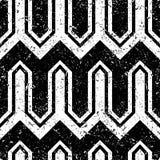 Art Deco Pattern. Seamless grunge background. Minimalistic geometric design. Vector line design. 1920-30s motifs. Luxury vintage illustration Stock Images